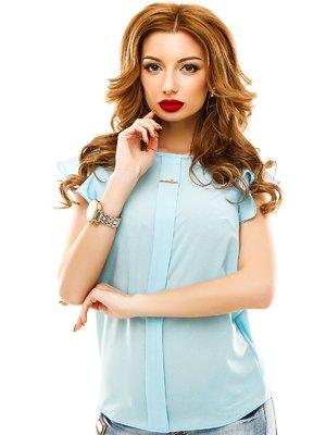 Блуза голубая | 2305398