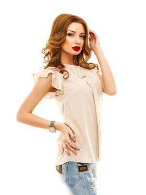 Блуза бежевая | 2305401