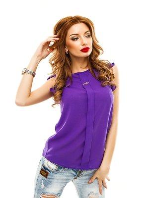 Блуза фиолетовая | 2305404