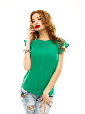 Блуза зелена | 2305405