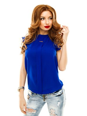 Блуза цвета электрик | 2305406