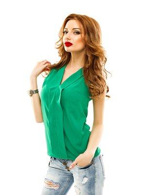 Блуза зеленая | 2305415
