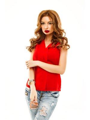 Блуза червона | 2305417