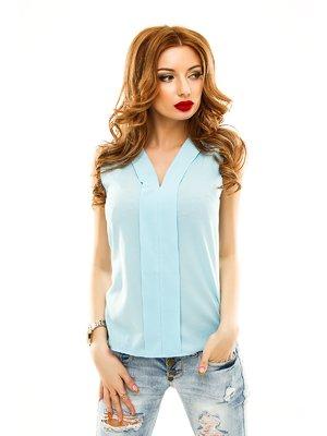 Блуза блакитна | 2305420