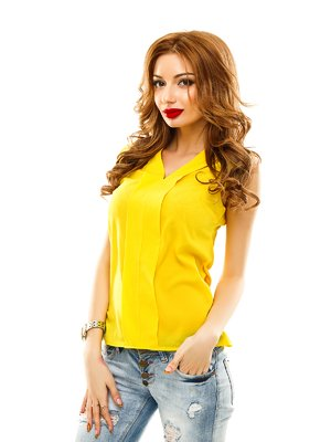 Блуза желтая | 2305421