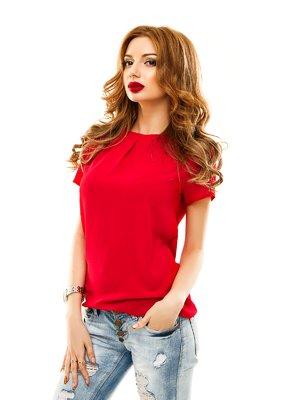 Блуза червона | 2305439