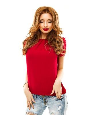 Блуза бордовая | 2305444