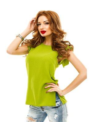 Блуза оливкового кольору | 2305453