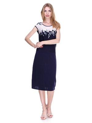 Сукня синьо-біла | 2302506