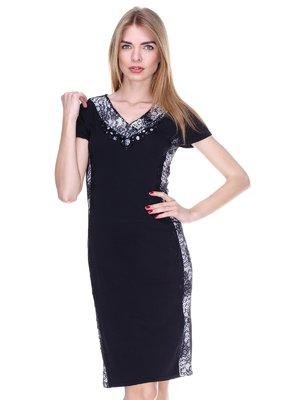 Сукня чорно-біла | 2302482