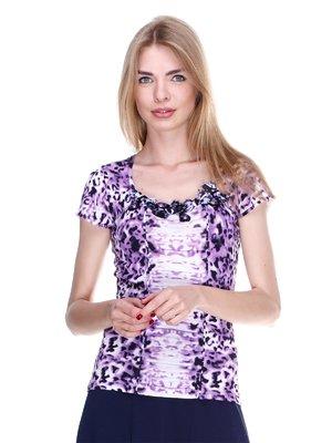 Блуза в анімалістичний принт | 2302441