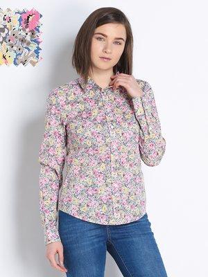 Блуза квіткового забарвлення | 2310328