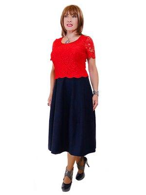 Платье двухцветное | 2316807