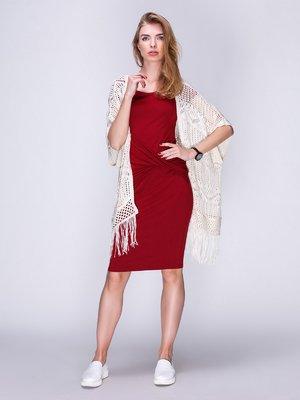 Сукня бордова | 2309869