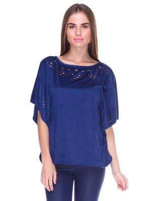 Блуза синяя   2316500