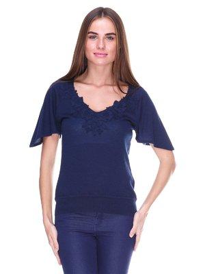 Блуза синяя   2316410