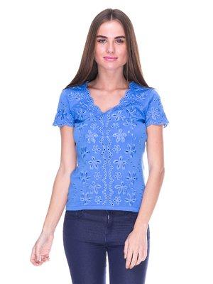Блуза голубая   2316405