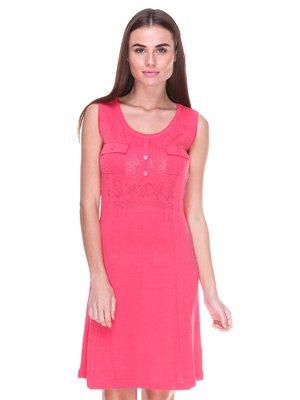 Платье коралловое | 2316473