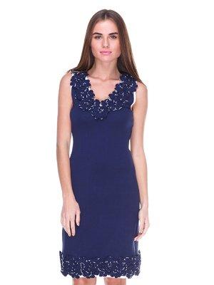 Сукня темно-синя | 2316434