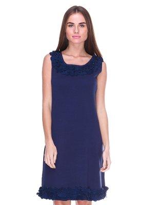 Сукня темно-синя | 2316421