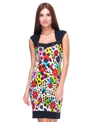 Сукня анімалістичного забарвлення | 2316520