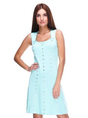 Сукня ментолового кольору | 2316428