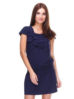 Платье темно-синее | 2316518