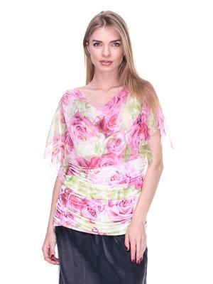 Блуза цветочной расцветки | 2316997