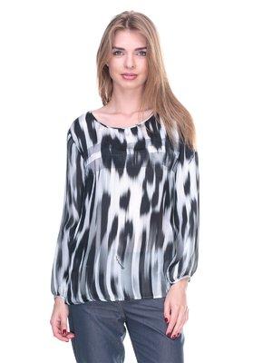 Блуза абстрактного забарвлення | 2316998