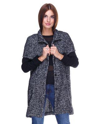 Пальто черно-белое | 2324777
