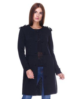 Пальто чорне | 2324780