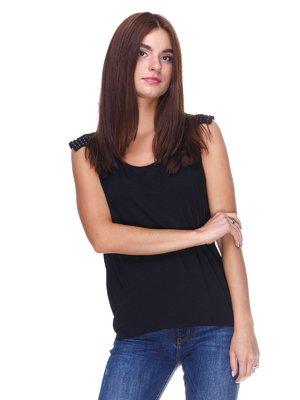 Блуза черная | 2324875