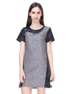 Сукня чорно-молочного кольору | 2324850