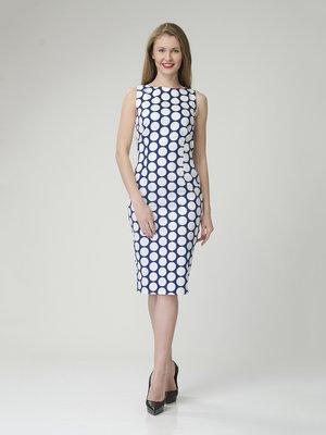 Сукня синьо-біла в горох | 2344269