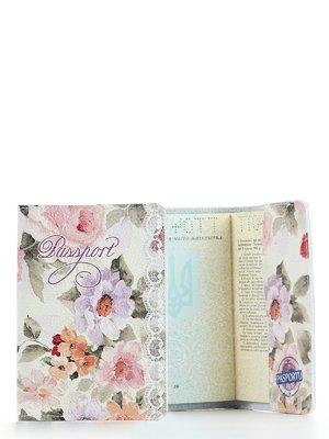 Обкладинка на паспорт «Квіти» | 2344575