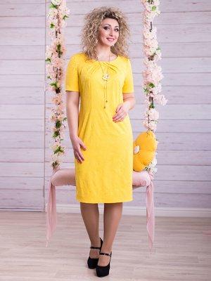 Платье желтое | 2345683