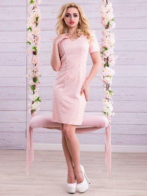 Платье персикового цвета | 2345690
