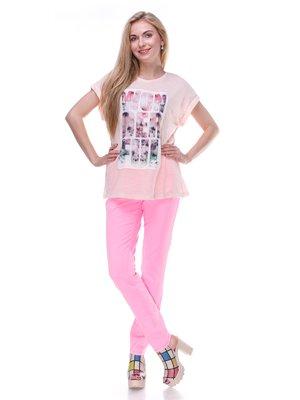 Джинсы розовые | 2333263