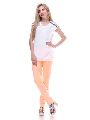 Джинсы оранжевые | 2333262