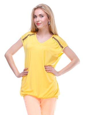 Блуза желтая | 2333351
