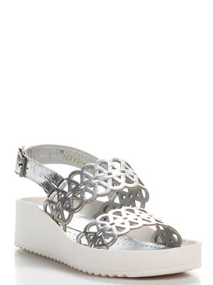 Босоніжки сріблясті | 2356417