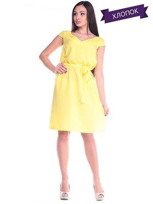Платье желтое | 2168487
