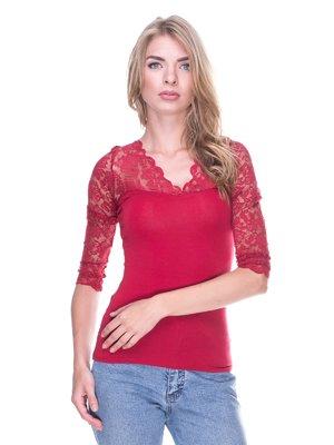 Блуза красная   2352320