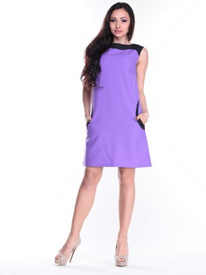 Платье светло-фиалкового цвета | 2318278