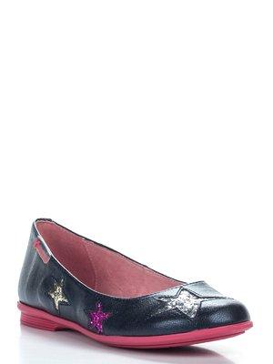 Туфлі темно-сині в зірки | 2361625