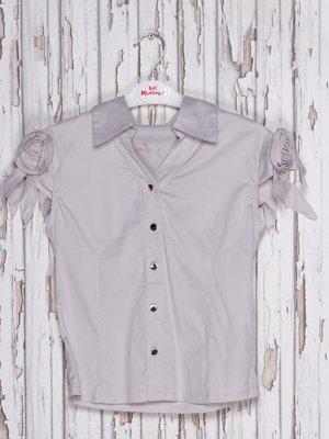 Блуза сіра | 2361660
