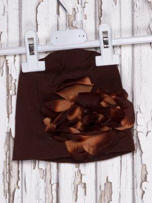 Шапка коричнева | 919932
