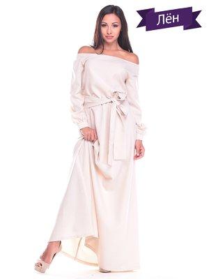 Сукня світло-бежева | 2363321