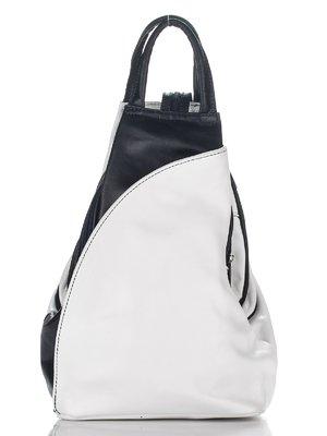 Рюкзак бело-синий | 2357066