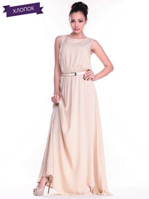 Платье бежевое | 2326692